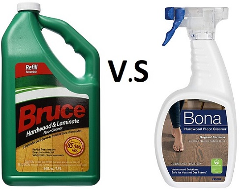 Bruce Hardwood Floor Cleaner Vs Bona