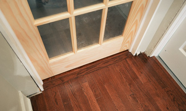 Non slip door mats for wooden floors