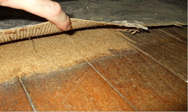 Are polypropylene rugs safe for hardwood floors
