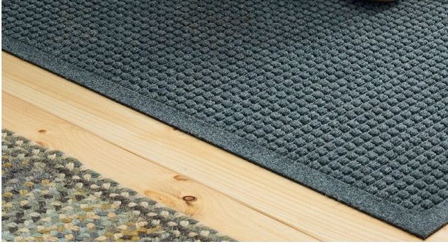 Are waterhog mats safe for hardwood floors?