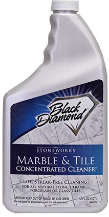 Black diamon tile cleaner