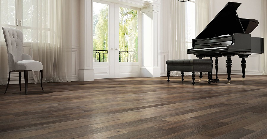 Can you put a piano on vinyl plank flooring?