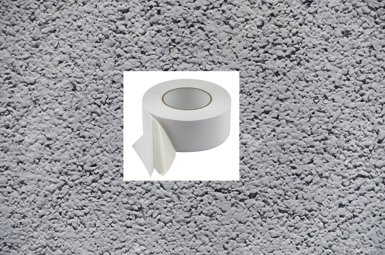 Carpet tape for rough surfaces