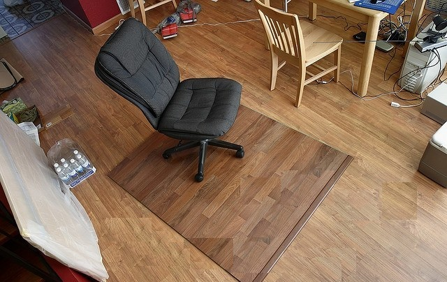 Do I need a chair mat on laminate