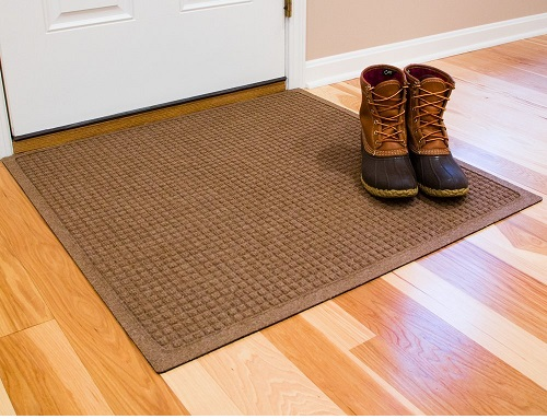 Hudson Fiber Entrance Indoor/Outdoor Floor Mat