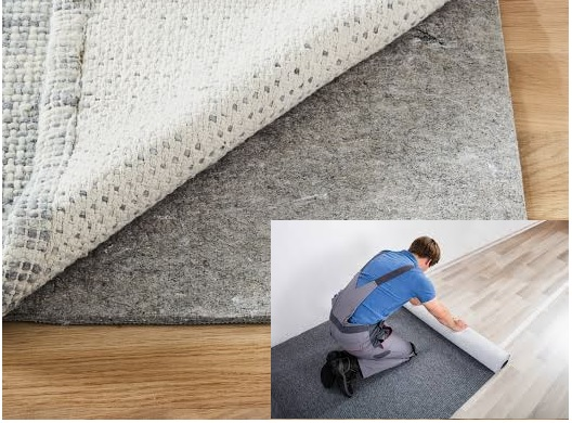 Rubber Rug Pads Safe For Laminate Floors, Rug Pad For Laminate Flooring