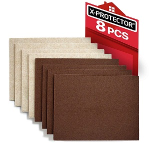 X-PROTECTOR Felt Furniture Pads